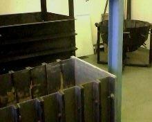 Лабораторные установки для проведения модельных исследований перспективных конструкций фундаментов