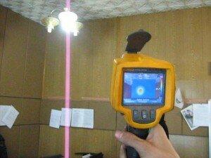Практические занятия с тепловизором
